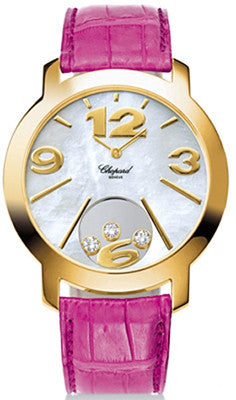Chopard - Happy Diamonds XL - Yellow Gold - Watch Brands Direct