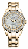 Rolex - Datejust Pearlmaster Lady Yellow Gold - Watch Brands Direct  - 4