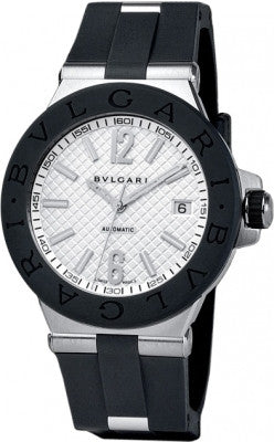 Bulgari,Bulgari - Diagono Automatic 40mm - Stainless Steel - Watch Brands Direct