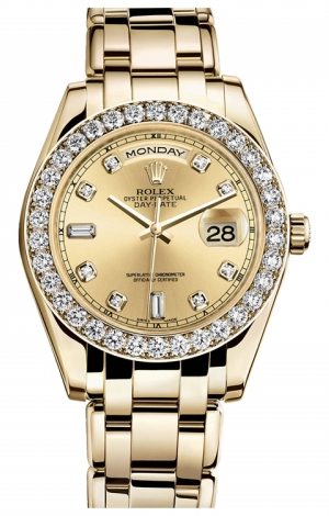 Rolex - Day-Date Special Edition Yellow Gold Masterpiece - Watch Brands Direct  - 1