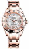 Rolex - Datejust Pearlmaster Lady Everose Gold - 12 Diamond Bezel - Watch Brands Direct  - 5