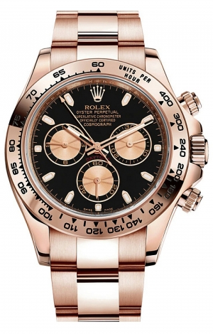 Rolex - Daytona Everose Gold - Bracelet - Watch Brands Direct  - 1