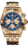 Breitling,Breitling - Chronomat 44 Rose Gold Polished Bezel - Pilot Bracelet - Watch Brands Direct