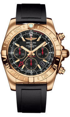 Breitling,Breitling - Chronomat 44 GMT Rose Gold on Diver Pro II - Watch Brands Direct