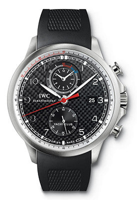 IWC - Portuguese Yacht Club Chronograph - Titanium - Watch Brands Direct