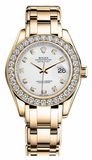 Rolex - Datejust Pearlmaster Lady Yellow Gold - Watch Brands Direct  - 6