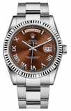 Rolex - Day-Date President White Gold - Fluted Bezel - Watch Brands Direct  - 7