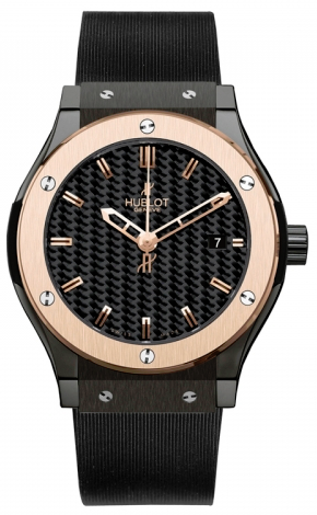 Hublot,Hublot - Classic Fusion 42mm Ceramic And Red Gold - Watch Brands Direct