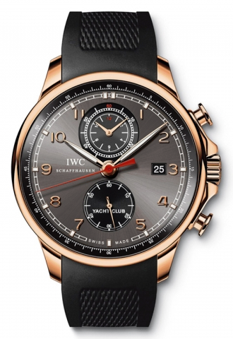 IWC,IWC - Portuguese Yacht Club Chronograph - Red Gold - Watch Brands Direct