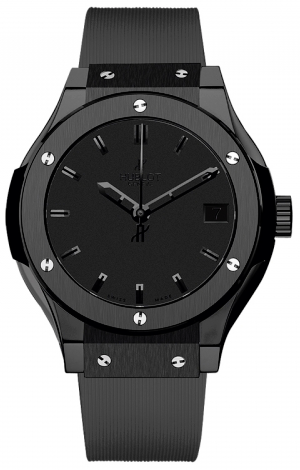Hublot,Hublot - Classic Fusion 33mm All Black - Watch Brands Direct