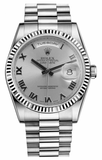 Rolex - Day-Date President White Gold - Fluted Bezel - Watch Brands Direct  - 12