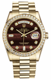 Rolex - Day-Date President Yellow Gold - 60 Diamond Bezel - Watch Brands Direct  - 2