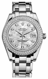 Rolex - Datejust Pearlmaster 34 White Gold - 116 Diamond Bezel - Watch Brands Direct  - 2