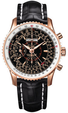 Breitling,Breitling - Montbrillant Datora Red Gold - Watch Brands Direct
