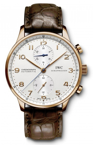 IWC,IWC - Portuguese Chronograph - Red Gold - Watch Brands Direct