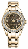 Rolex - Datejust Pearlmaster Lady Yellow Gold - Watch Brands Direct  - 3