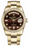 Rolex - Day-Date President Yellow Gold - 60 Diamond Bezel - Watch Brands Direct  - 1