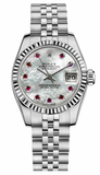 Rolex - Datejust Lady 26 - Steel Fluted Bezel - Watch Brands Direct  - 33