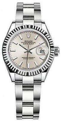 Rolex - Lady Datejust 28mm - Stainless Steel and White Gold