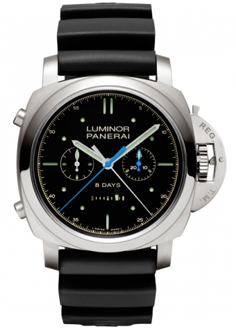 Panerai,Panerai - Luminor 1950 Rattrapante 8 Days - Watch Brands Direct