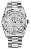 Rolex - Day-Date President White Gold - Fluted Bezel - Diamond Lugs - Watch Brands Direct  - 1