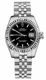 Rolex - Datejust Lady 26 - Steel Fluted Bezel - Watch Brands Direct  - 11