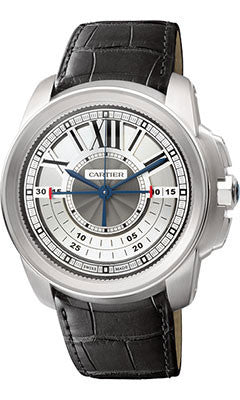 Cartier,Cartier - Calibre de Cartier Chronograph White Gold - Watch Brands Direct
