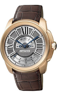 Cartier,Cartier - Calibre de Cartier Multiple Time Zone - Watch Brands Direct