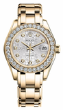 Rolex - Datejust Pearlmaster Lady Yellow Gold - Watch Brands Direct  - 14