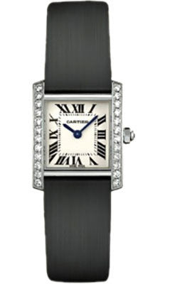 Cartier,Cartier - Tank Francaise Small - White Gold - Watch Brands Direct