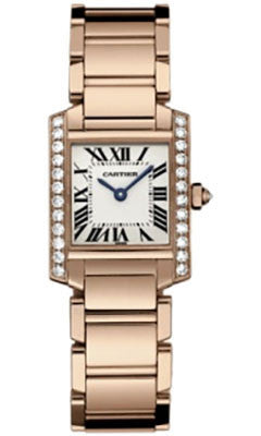 Cartier,Cartier - Tank Francaise Small - Pink Gold - Watch Brands Direct