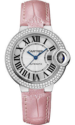 Cartier,Cartier - Ballon Bleu 33mm - White Gold - Watch Brands Direct