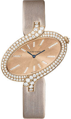 Cartier,Cartier - Delices de Cartier Extra Large Pink Gold - Watch Brands Direct