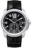 Cartier,Cartier - Calibre de Cartier Automatic Steel - Watch Brands Direct