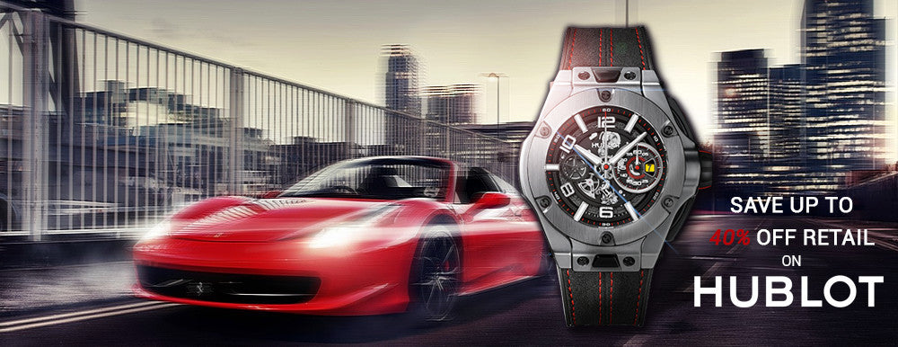 Hublot - Up To 40% off Retail