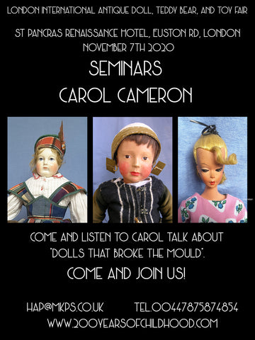 2A. 11am. Saturday 7th November Carol Cameron
