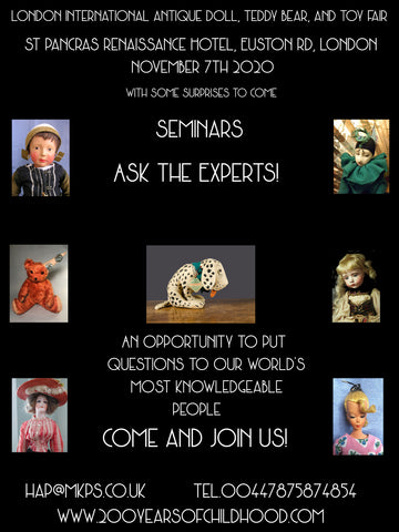 6B. 3pm. Saturday 7th November - Ask the Experts!