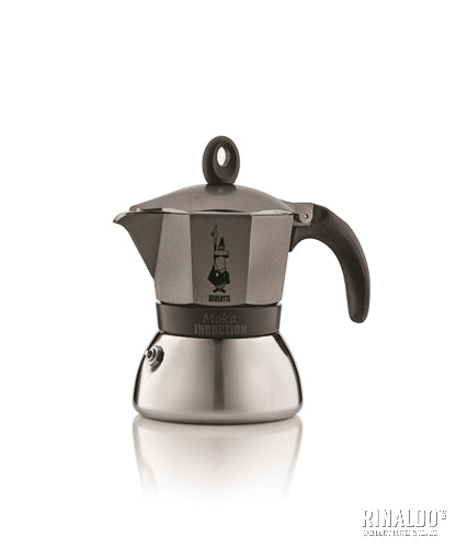 Bialetti: Moka INDUCTION  3-Cup - Stove Top
