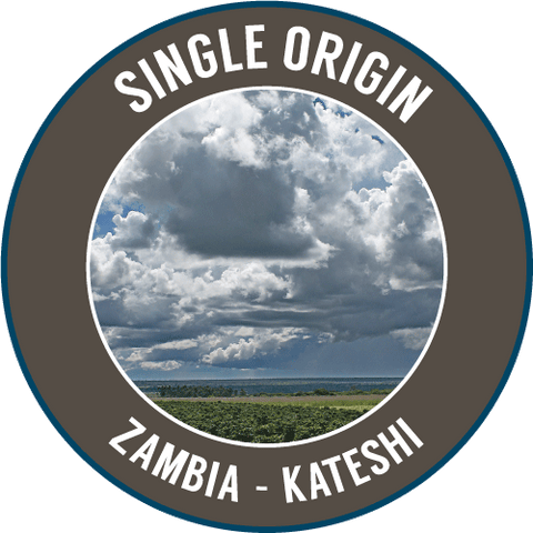ZAMBIA:  Kateshi Estate (RFA / UTZ) - Single Origin -100% Arabica - NEWLY ARRIVED