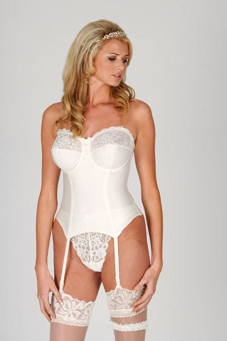 Silhouette Paysanne Wedding Basque White 4056