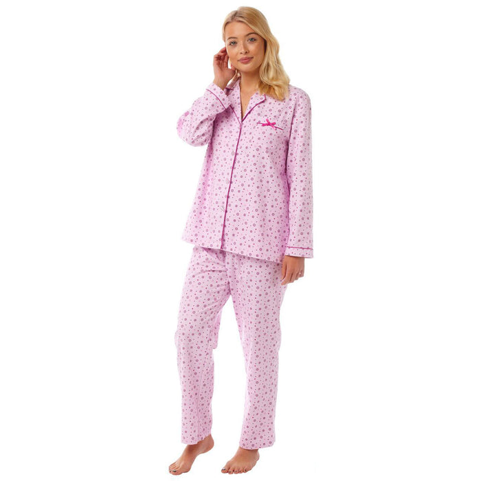 Traditional Style Luxury Winceyette Womens Pyjamas
