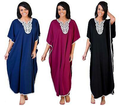 La Marquise Embroidered Front Kaftan Longer Length