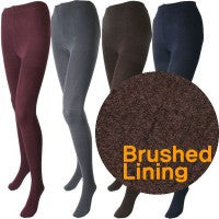 Silky 200 Denier Appearance Thermal Fleece Lined Tights