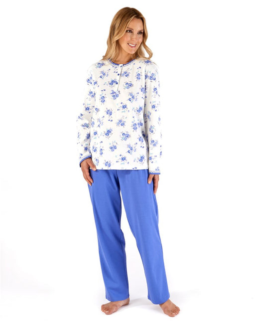 100% Cotton Jersey Long Sleeve Pyjamas