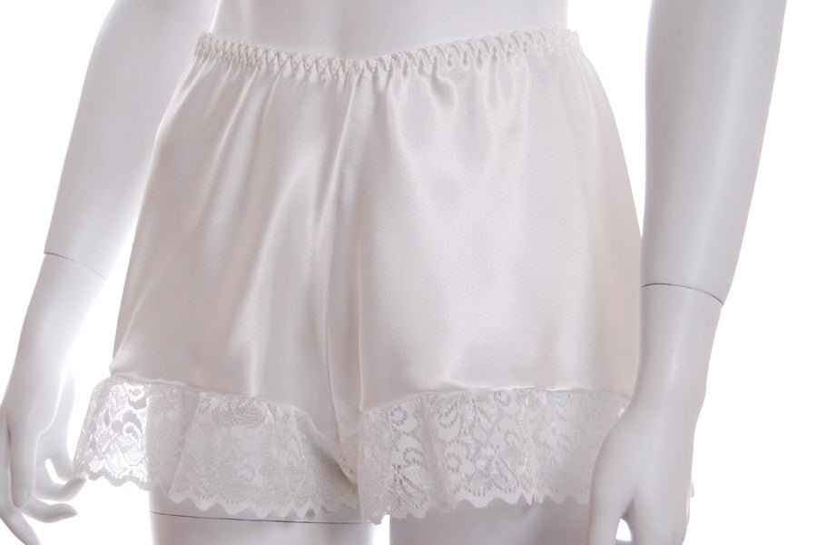 5a59ff302024 Satin Lace Trim French Knickers — Sandras Online