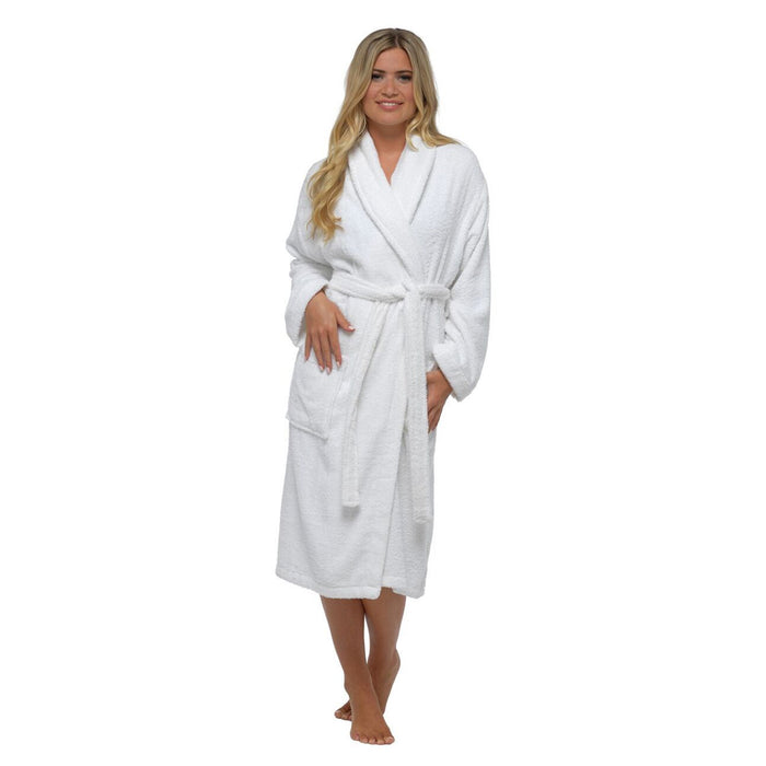 Lady Olga Ladies 100% Cotton Towelling Dressing Gown — Sandras Online
