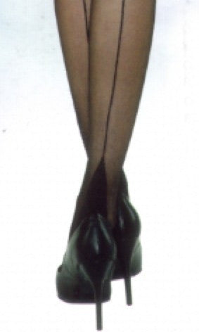 Silky Seamed Stocking