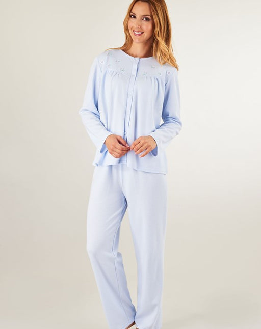 Jacquard Jersey Long Sleeve Pyjamas