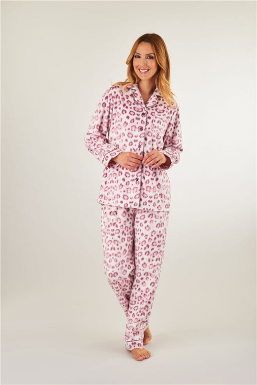 "Slenderella ""Minky"" Fleece Pyjamas"