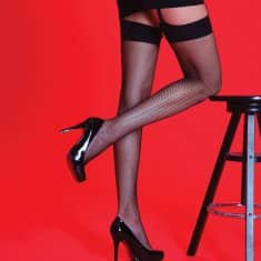 Silky Fishnet Stockings 4 Colours